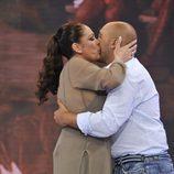 Isabel Pantoja recibe a Kiko Rivera en 'Supervivientes'