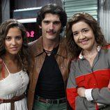Ana Fernández, Yon González y María pujalte