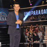 Jesús Vázquez presenta 'Uno para ganar'