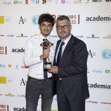 Miguel Ángel Oliver posa en los Premios de la Academia de Televisión 2011