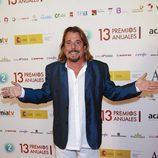Juan Muñoz, ex integrante de Cruz y Raya, en los Premios de la ATV