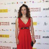 Isabel Serrano en los Premios de la Academia de Televisión
