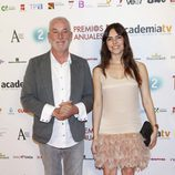 Txumari Alfaro en los Premios de la Academia de Televisión 2011