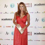 Patricia Betancort durante la entrega de Premios de la Academia de Televisión 2011