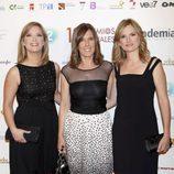 María Casado, Ana Blanco y Ana Roldán en la entrega de Premios ATV 2011