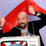 Goyo Jiménez, presentador de 'No le digas a mamá que trabajo en la tele'