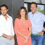 Màxim Huerta y Joaquín Prat acompañan a Ana Rosa