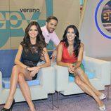 Alicia Senovilla, Romina Belluscio y Roberto Leal en 'Espejo público'
