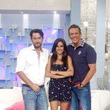 Maxim Huerta y Joaquín Prat reciben a Carmen Alcayde en 'El programa del verano'