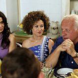 Inés, François y Miguel Alcántara en la 13ª temporada de 'Cuéntame cómo pasó'