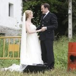 La boda de Alfredo y Elena en el final de 'Doctor Mateo'