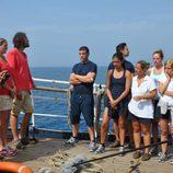 Tripulación y concursante de 'El barco: Rumbo a lo desconocido'