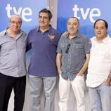 Janfri Topera, Javivi, Enrique Villén y Eduardo Antuña presentan 'Plaza de España'