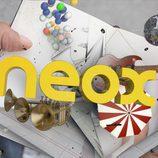 Identificativo de Neox con logotipo amarillo