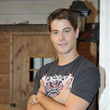 Luis Fernández 'Perla' en el rodaje de la tercera temporada