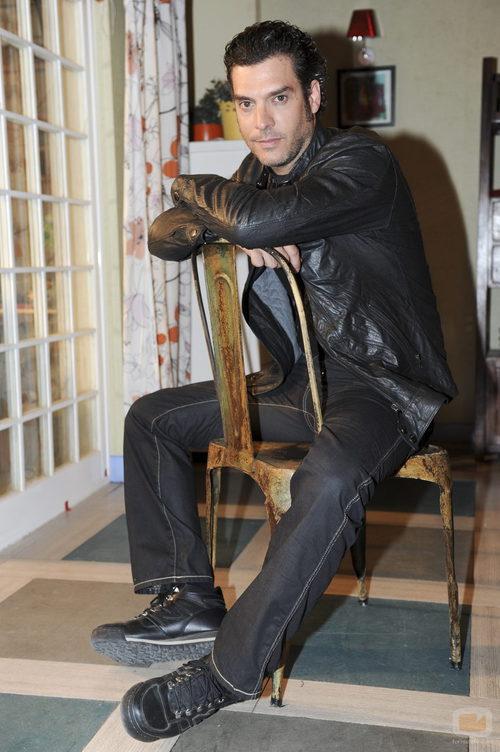 Javier Mora en la tercera temporada de 'Los protegidos'