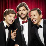Ashton Kutcher en 'Dos hombres y medio'