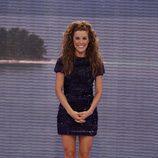 Raquel Sánchez Silva en la final de 'Supervivientes 2011'