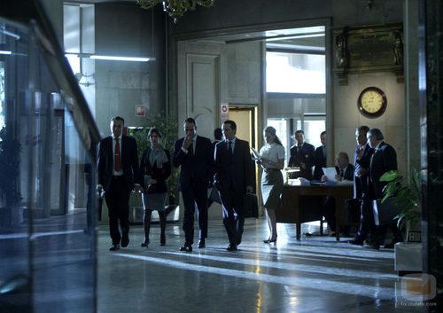Telecinco finaliza el rodaje de 'Mario Conde. Los días de gloria'