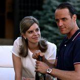 Mario Conde y Lourdes en 'Mario Conde. Los días de gloria'