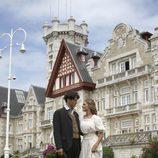 Amaia Salamanca y Yon Gonzalez, juntos en 'Gran Hotel'