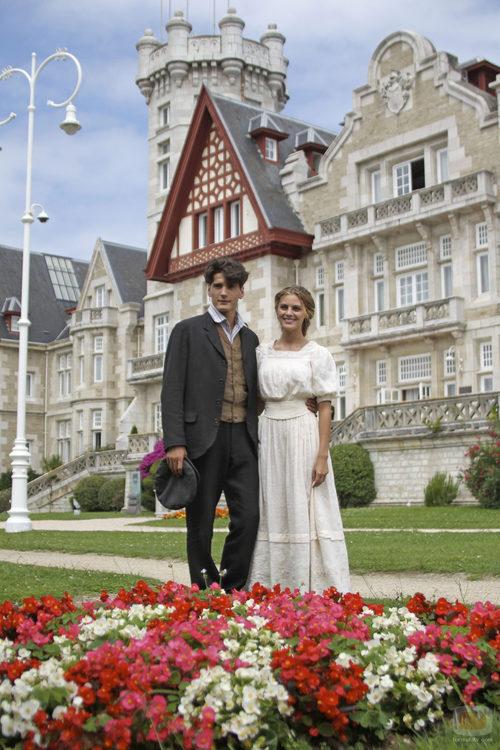 Los protagonistas de 'Gran Hotel'