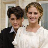Yon González y Amaia Salamanca en el Palacio de la Magdalena en 'Gran Hotel'
