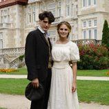 Julio Olmedo y Alicia Alarcón, personajes de 'Gran Hotel'