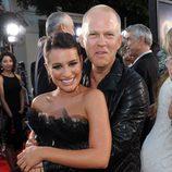 Lea Michele con el creador de 'Glee', Ryan Murphy