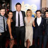 El reparto de 'Glee' en el estreno de la película