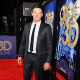 Cory Monteith en la première de 'Glee: The 3D Concert Movie'