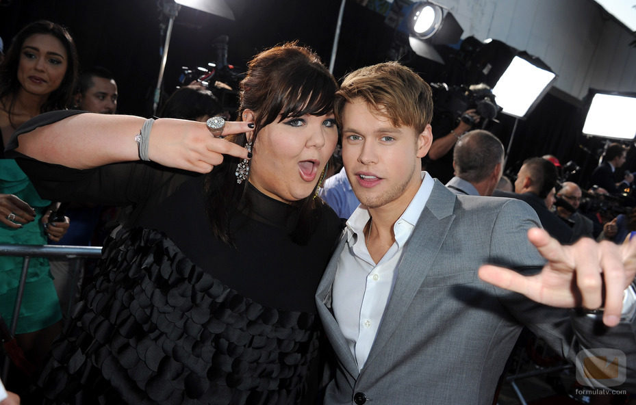 Ashley Fink y Chord Overstreet, los más chulos