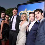 Los chicos de 'Glee' en el estreno de la película