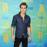 Paul Wesley en los Teen Choice Awards 2011