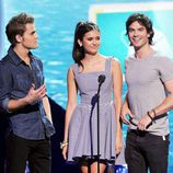 Los protagonistas de 'The Vampire Diaries' en los Teen Choice Awards 2011