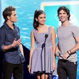 Los protagonistas de 'The Vampire Diaries' en los Teen Choice Awards 2011