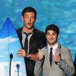 Cory Monteith y Darren Criss en los Teen Choice Awards 2011