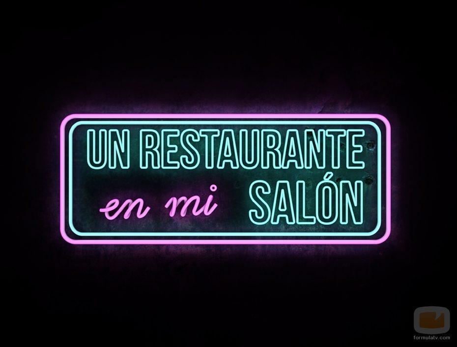 Logo de 'Un restaurante en mi salón'