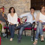 Salvador García, Marta Balaustegui, Raúl Peña y Lucía Jiménez