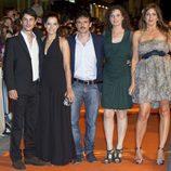 Los protagonistas de 'La República' en el estreno del FesTval
