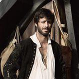 Hugo Silva como Juan de Salazar en 'El corazón del océano'