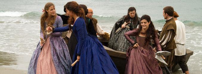 Las viudas de 'El corazón del océano' toman tierra