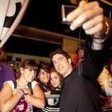 Eduardo Noriega, de 'Homicidios', en la alfombra roja del FesTVal