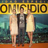 Eduardo Noriega, Celia Freijeiro y Esmeralda Moya en el FesTVal
