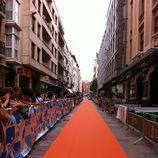 Nueva alfombra naranja para el estreno de 'El barco'