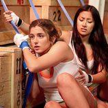 Marina Salas y Giselle Calderón en la segunda temporada de 'El Barco'