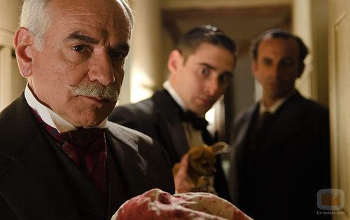 El detective Ayala investigará los misterios de 'Gran Hotel'