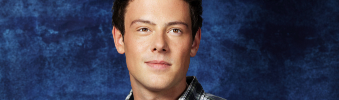 Cory Monteith es Finn Hudson en 'Glee'