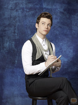 Chris Colfer es Kurt en \'Glee\'