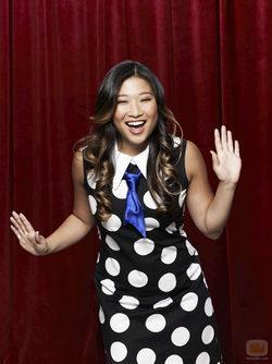 Jenna Ushkowitz es Tina en la serie de Fox \'Glee\'